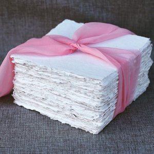 deckle edge paper handmade paper