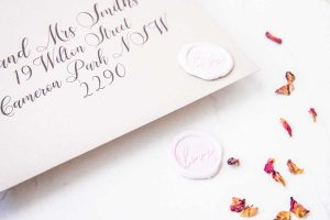love wax seals envelope