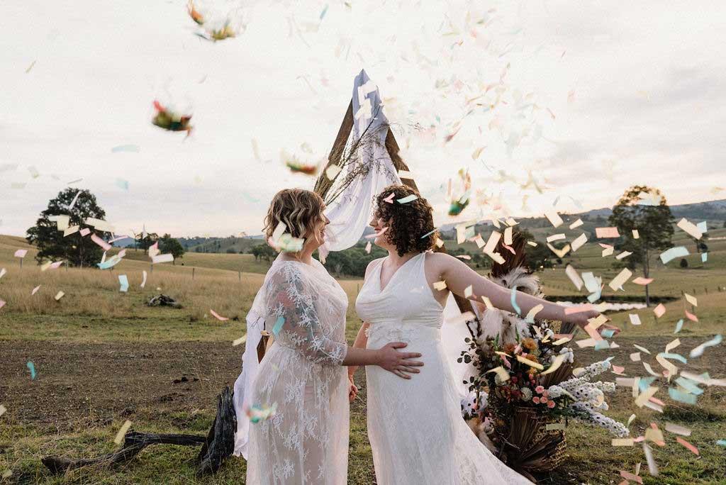 lynwood estate gay brides confetti