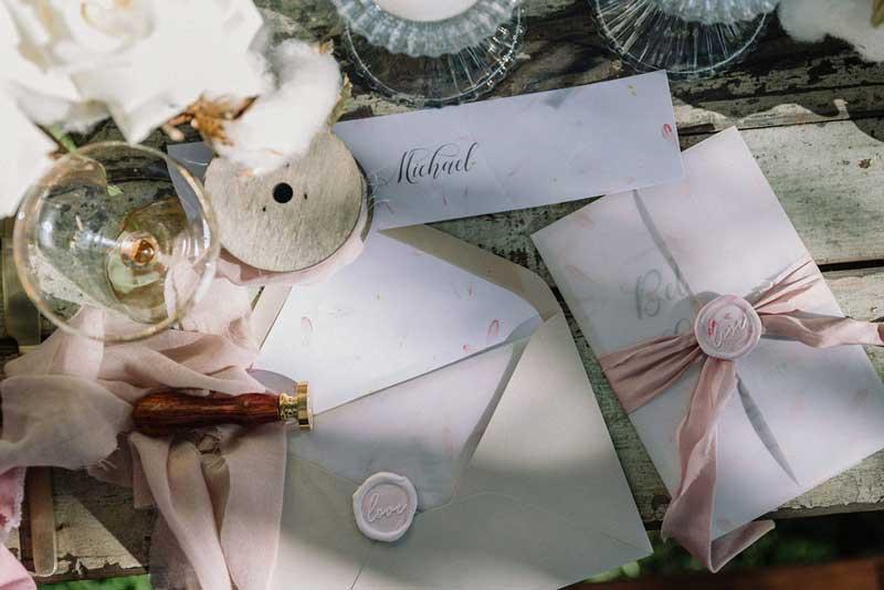 lynwood estate wedding invitation suite