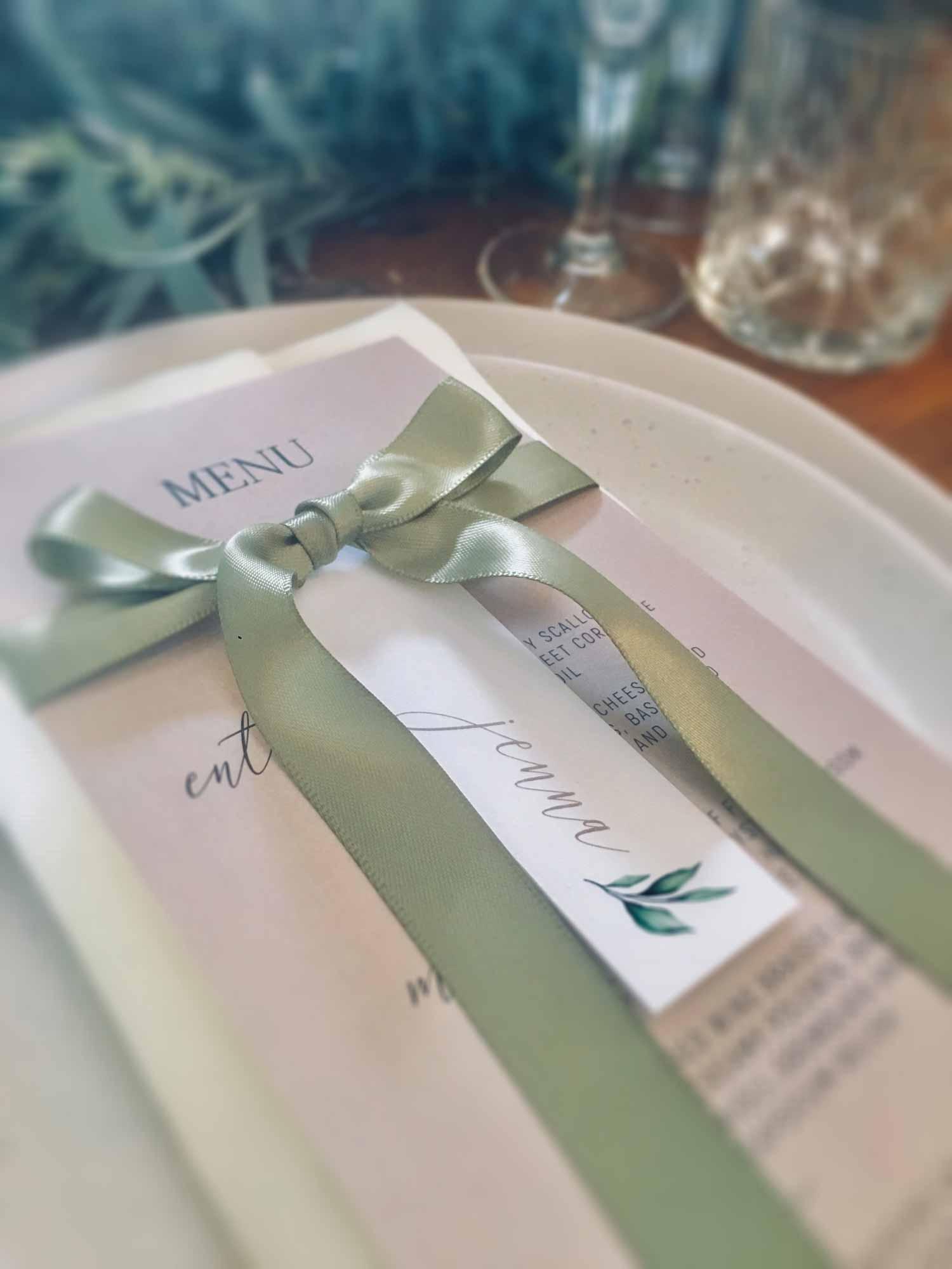 stonehurst menu live ribbon place tag