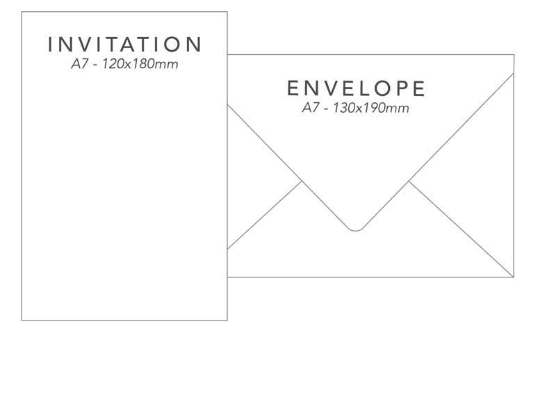 wedding invitation package 1