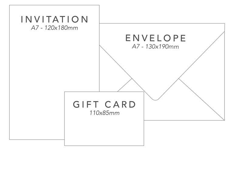 wedding invitation package 2