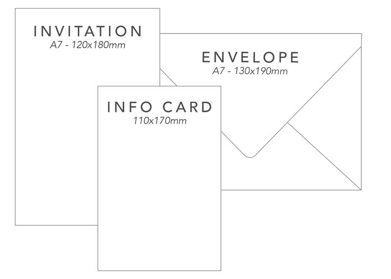 wedding invitation package 3