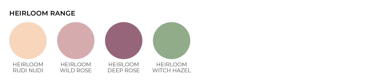 heirloom paper envelope colours