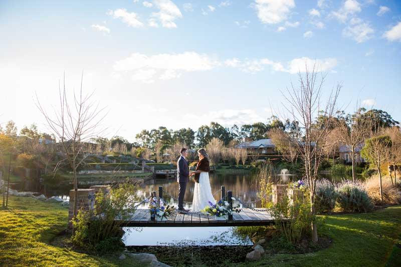 bathhouse winter wedding