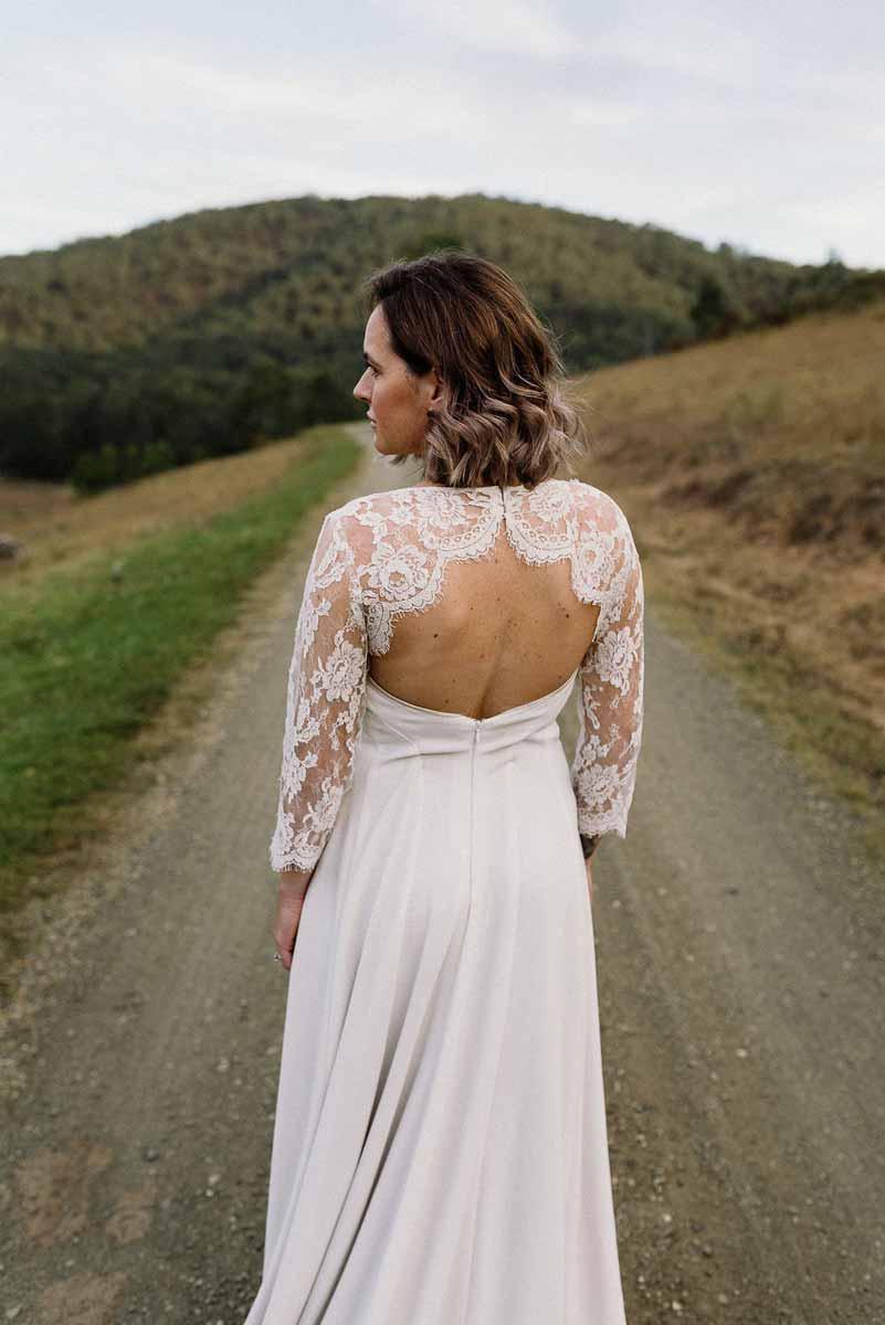 stonehurst bridal dress back lace